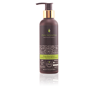 Heat protectant for hair STYLING blow dry lotion Macadamia
