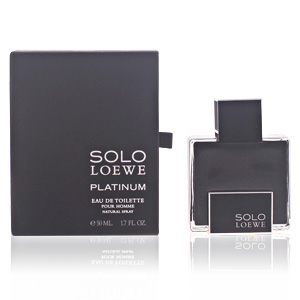 SOLO LOEWE PLATINUM eau de toilette spray 50 ml