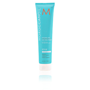 Hair moisturizer treatment STYLE styling gel Moroccanoil