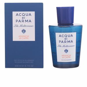 Shower gel BLU MEDITERRANEO ARANCIA DI CAPRI relaxing shower gel Acqua Di Parma