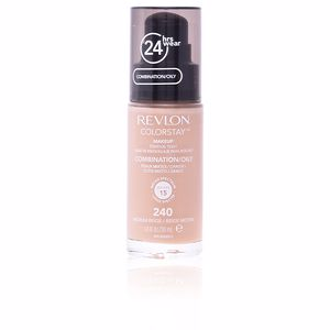 Revlon Make Up, COLORSTAY foundation combination/oily skin #240-medium beige