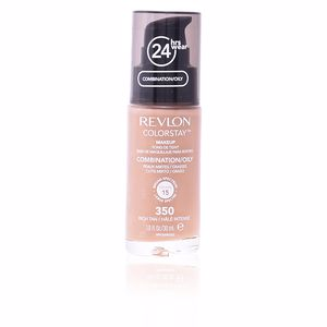 Revlon Make Up, COLORSTAY foundation combination/oily skin #350-rich tan