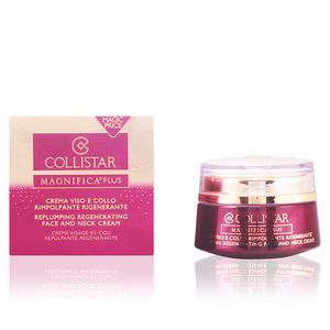 Crèmes anti-rides et anti-âge MAGNIFICA PLUS replumping regenerating face cream Collistar