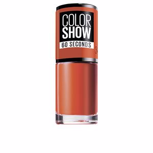 COLOR SHOW nail 60 seconds #341-orange attack