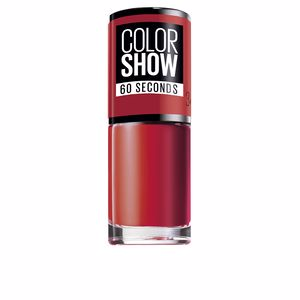COLOR SHOW nail 60 seconds #349-power red