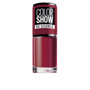 COLOR SHOW nail 60 seconds #352-downtown red