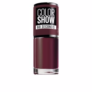 COLOR SHOW nail 60 seconds #357-burgundy kiss