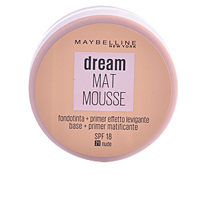 Base de maquillaje DREAM MATT mousse  Maybelline