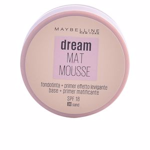 Base maquiagem DREAM MATT mousse  Maybelline
