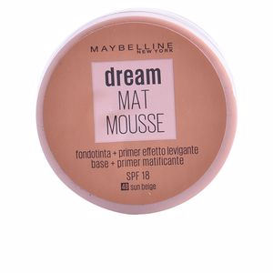 Foundation makeup DREAM MATT mousse  Maybelline
