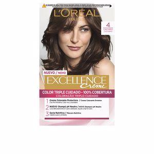 Tintes EXCELLENCE CREME #4 castaño L'Oréal París