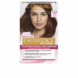 Tintes EXCELLENCE CREME #4,54 castaño caoba cobrizo L'Oréal París