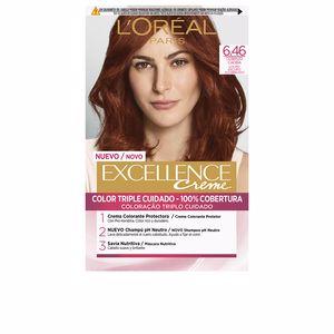 Tintes EXCELLENCE CREME #6,46 rubio oscuro cobrizo caoba L'Oréal París