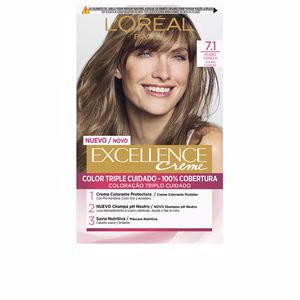 Tintes EXCELLENCE CREME #7,1 rubio ceniza L'Oréal París