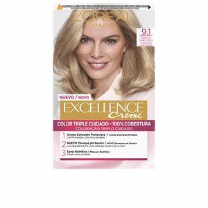 Tintes EXCELLENCE CREME #9,1 rubio claro claro ceniza L'Oréal París