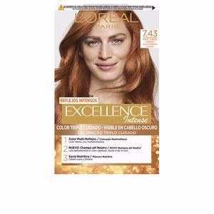 Dye EXCELLENCE INTENSE #7,43 rubio cobrizo dorado L'Oréal París