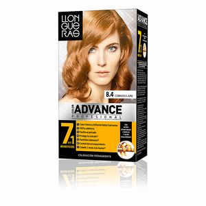 Dye COLOR ADVANCE #8,4-cobrizo claro Llongueras