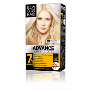 Dye COLOR ADVANCE #11-rubio natural extra claro Llongueras