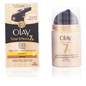 TOTAL EFFECTS hidratante + maquillaje SPF15 #oscuro 50 ml