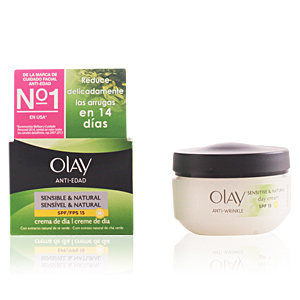 Anti aging cream & anti wrinkle treatment ANTI-EDAD crema día pieles secas SPF15 Olay