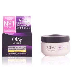 Anti aging cream & anti wrinkle treatment ANTI-EDAD crema día efecto lifting SPF15 Olay