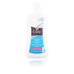 Cleansing milk ESSENTIALS leche limpiadora hidratante piel mixta Olay