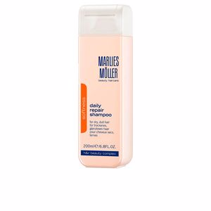 Hair loss shampoo - Moisturizing shampoo - Sun Protection shampoo SOFTNESS daily repair rich shampoo Marlies Möller