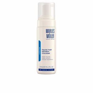 Hair styling product VOLUME liquid hair keratin mousse Marlies Möller