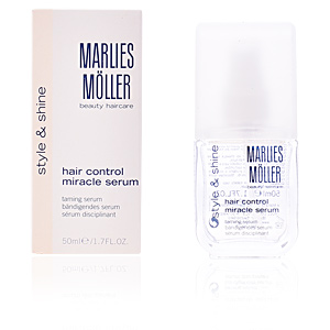 Traitement anti-frisottis - Traitement brillance - Protection solaire cheveux STYLING straight control styling serum Marlies Möller