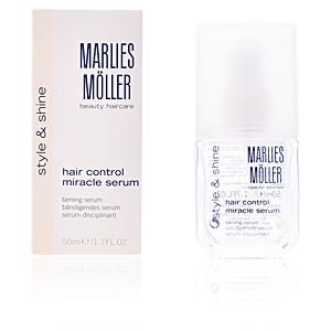 Tratamiento antiencrespamiento - Tratamiento brillo - Protección solar pelo STYLING straight control styling serum Marlies Möller