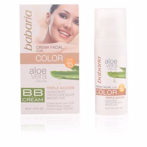 Babaria, ALOE VERA BB cream SPF15 50 ml