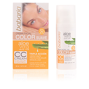 CC Cream ALOE VERA COLOR CC cream SPF20 Babaria