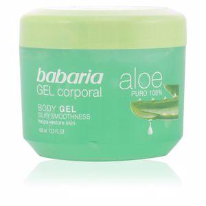 Body moisturiser ALOE VERA 100% natural gel corporal reparador Babaria