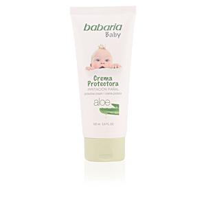 Hidratante corporal BABY crema protectora irritación pañal aloe Babaria