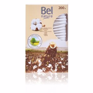 Cotton bud NATURE bastoncillos cartón algodón 100% orgánico Bel