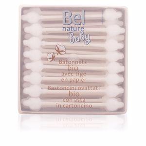 Cotton bud NATURE BABY bâtonnets 100% coton bio Bel