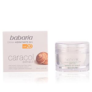 Face moisturizer CARACOL crema extra hidratante SPF20 Babaria