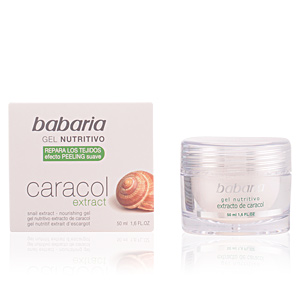 Soin du visage hydratant CARACOL gel nutritivo Babaria