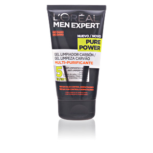 Limpiador facial MEN EXPERT pure power cleansing gel L'Oréal París