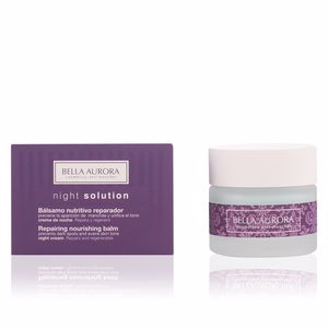 Cremas Antiarrugas y Antiedad NIGHT SOLUTION bálsamo nutritivo reparador Bella Aurora