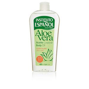 Hidratante corporal ALOE VERA aceite corporal Instituto Español