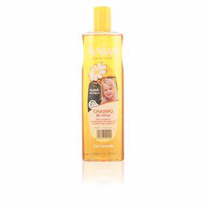 Shampoo for shiny hair ANIAN NIÑOS champú suave camomila Anian