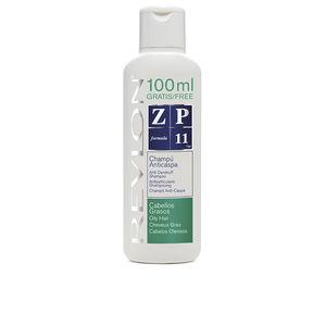Shampoo anticaspa ZP11 champú anticaspa cabellos grasos Revlon