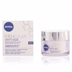 Trattamento viso idratante CELLULAR ANTI-AGE day cream SPF15 Nivea