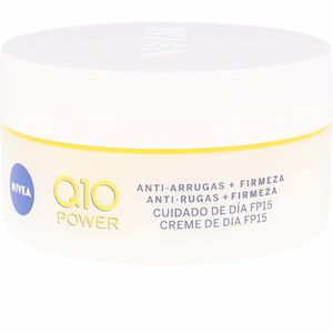 Anti aging cream & anti wrinkle treatment Q10+ anti-arrugas día SPF15 Nivea