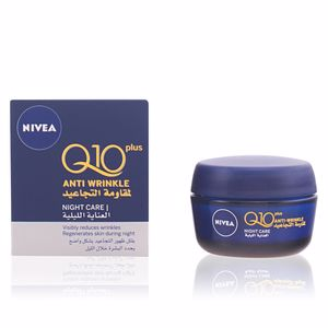 Anti aging cream & anti wrinkle treatment Q10+ anti-arrugas noche Nivea