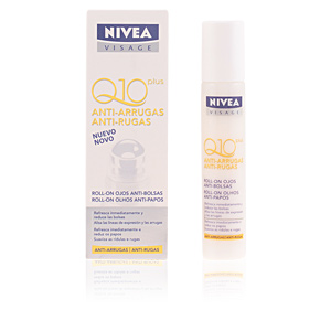 Eye contour cream Q10+ anti-arrugas roll-on ojos Nivea