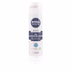 Espuma de barbear MEN SENSITIVE gel afeitar anti-irritaciones Nivea