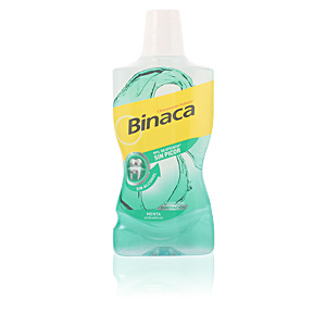 Enjuague bucal BINACA MENTA enjuague bucal sin alcohol Binaca