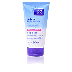 Facial cleanser CLEAN & CLEAR exfoliante limpiador diario Clean & Clear